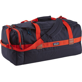 Patagonia Arbor Duffel Bag 60L Navy Blue W/Paintbrush Red